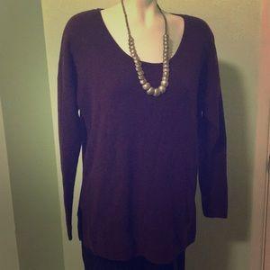 Eggplant purple Gap Sweater